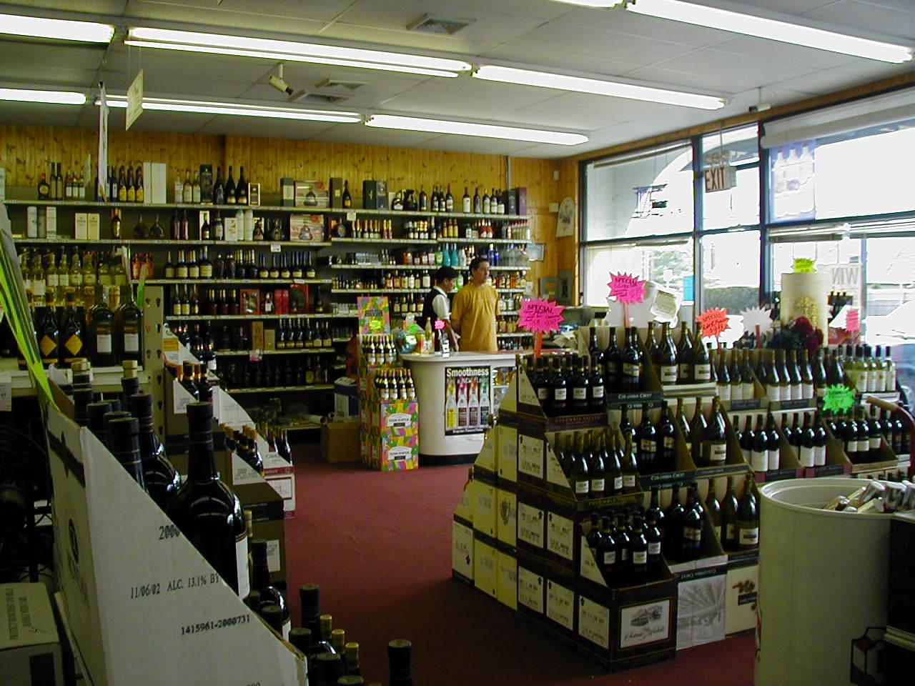 Liquor store – 맨하탄 연매상 130만