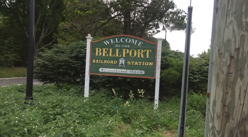 Bellport - Station Rd - Train Station